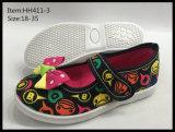 De recentste Schoenen van het Canvas van de Injectie van de Kinderen van het Ontwerp dansen Schoenen (hh411-1)