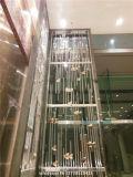 Fußboden zur Decken-Metalltrennwand