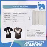衣服50cm*25mのための印刷できる熱伝達のフィルムPU Thsirtのビニールロール