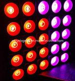Блиндер аудитории этапе лампа 25X30W Tri Цветной светодиодный индикатор радиатора отопителя