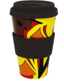 Bambusfaser-Cup mit umweltfreundlichem (YK-BC4057)
