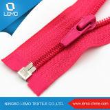 3 # Zíper de nylon colorido com controle deslizante misto