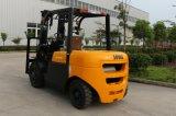 4.5ton diesel Vorkheftruck met Automatische Transmissie en Chinese Motor Xichai4110, Ingenieur Availabe aan de Dienst overzee