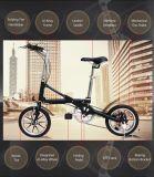 Velocidade da liga de alumínio 7 uma bicicleta de dobramento do segundo