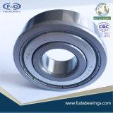 Cuscinetto a sfere profondo poco costoso della scanalatura dell'acciaio al cromo dei cuscinetti a sfera 6304 ZZ