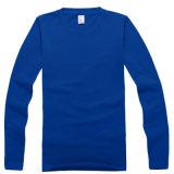 Logo personnalisé de soccer à manchon long plain T Shirt