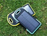 Banco de la energía solar impermeable universal 5000mAh