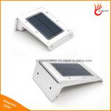 IP65 20 LED الطاقة الشمسية الصوت / كشف الحركة الاستشعار حديقة الخفيفة للإضاءة في الهواء الطلق الأمن