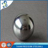 Bola de acero inoxidable de la alta precisión