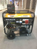 Generatore portatile della benzina 8.7kw 9.4kVA di inizio elettrico a tre fasi di Kg8500e