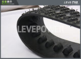 Robô Chassis / off-Road Use Rubber Track Frome Leve