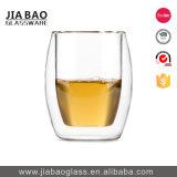 285ml Adesivo Personalizado duplas de vidro borossilicato decorativas chávena de café