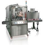 Qualitäts-Kennsatz, der Shrink-beschriftenhülsen-Maschine einschiebt