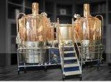 Equipo de cobre rojo de la fabricación de la cerveza/equipo para producir la cerveza en una pequeña escala