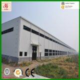 Costruzione prefabbricata del magazzino della struttura d'acciaio