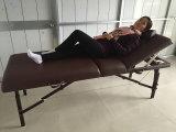 Base portatile di lusso di massaggio con colore rosso scuro