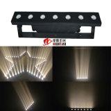 Nj-7c는 백색 색깔 LED 매트릭스 7* 3W 높은 밝은 LED 배경 빛을 데운다