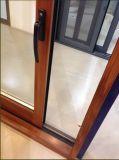 Раздвижная дверь Alu-Древесины/алюминиевая раздвижная дверь