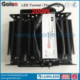 Chine Fournisseur Fabricant 5 Oui Garantie 1-10V PWM Résistance du signal Dimming 200W 200 Watt Tunnel LED Flood Light