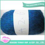 Folga de 4 camadas grossas Natural de fio de algodão volumosos para tricotar