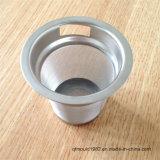 Tamis Supplémentaire-Fin de bac de café de l'acier inoxydable 304 de maille