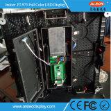 HDの段階のためのフルカラーP2.973屋内使用料LEDの印