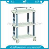 AG-Lpt ISO CE007A Hospital de lujo en la mano de Rubbermaid Carro de compras