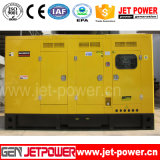 piccolo gruppo elettrogeno insonorizzato di elettricità del motore diesel 85kVA