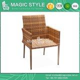 Cadeira de jantar de projeto ao ar livre com cadeira de cadeira de almofada