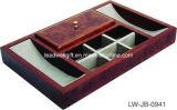 Organizador de cuero del escritorio de la PU del material de encargo de cuero de múltiples funciones de la alta calidad