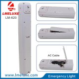 9W LED recargable luz de emergencia