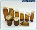 Het amber Tubulaire Flesje van het Glas voor Farmaceutische Injectie