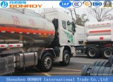 Cimc de Op zwaar werk berekende U290 Vrachtwagen van de Tanker van 290HP 8X4 Liqiud voor Brandstof/Gasoline/Diesel