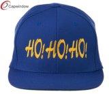 赤い急な回復のウール(01076)が付いている帽子によって刺繍される平らなビルのHip Hopの帽子