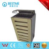 Quarto infravermelho de vidro da sauna do banheiro da fábrica de Foshan (BZ-5037)
