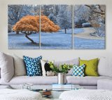 マルチパネルの景色のキャンバスかグループの日没の高品質の絵画または海景によって伸ばされるキャンバスの印刷