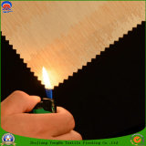 Textil hogar resistente al agua fr Blackout cortina de tejido de poliéster