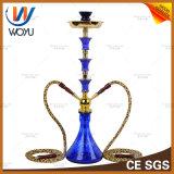 Qualitäts-rauchende Glasrohr-GlasHuka-Schleife-DoppelHuka