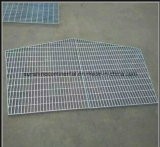Plataforma Grating de acero galvanizada ajustable