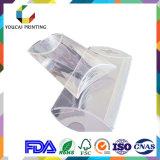 L'animale domestico pp del PVC rimuove la casella trasparente di imballaggio di plastica