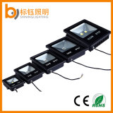 옥외 빛 IP67 Die-Casting 알루미늄 100W 투광램프 호리호리한 Ultrathin 정원 램프 LED 플러드 점화