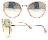 Óculos de sol relativos à promoção baratos das mulheres por atacado dos óculos de sol do projeto moderno