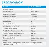 Kct-1280wz 8mm mola versátil sem eixos do CNC de 12 linhas centrais que gira dando forma à mola de Machine&Extension/Torsion que faz a máquina
