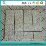Granito arrugginito/nebbioso giallo di colore giallo G682 per la pietra per lastricati/paracarro/Cubestone
