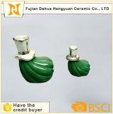 Внушительная зеленая тыква для украшения Halloween