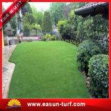 Plástico de alta calidad alfombra de césped artificial para jardín y patio de recreo deportivo