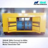 500kw de elektrische Roterende Convertor van de Frequentie 50Hz aan 60Hz (geplaatste Motor+Generator)