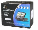 """drahtloser Installationssatz der Kamera-4CH mit Zoll LCD-Bildschirm des Built-in7 """" (MVT-K04)"""