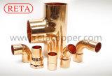 증명되는 Hvacr ISO 9001를 위한 Reta 구리 이음쇠