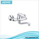 Nouveau modèle à poignée simple robinet mélangeur de cuisine murale&JV71705